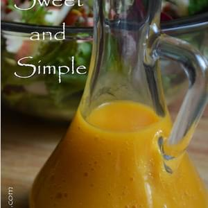Sweet and Simple Mango Dressing