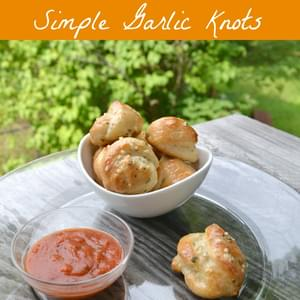 Simple Garlic Knots! - Quick and Easy