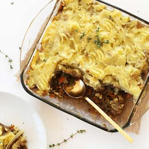 1 Hour Vegan Shepherd's Pie