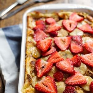 Super Easy Coconut French Toast Bake
