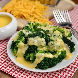 Cheddar Cheese Sauce for Vegetables