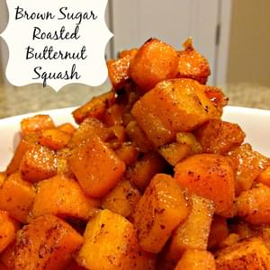 Cinnamon & Brown Sugar Roasted Butternut Squash