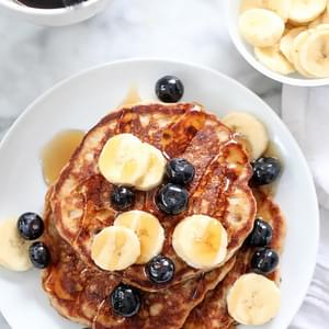 The Best Banana Bread Pancakes