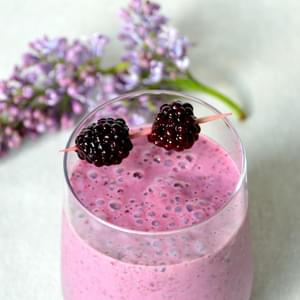Blackberry Chia Seed Smoothie