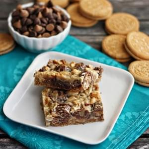 Ultimate Reese's Magic Cookie Bars