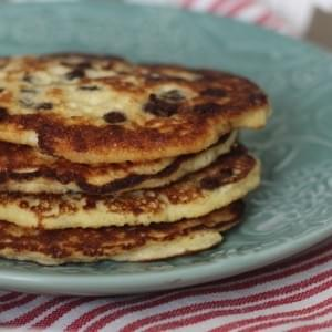 3 Ingredient Simple Protein Pancakes
