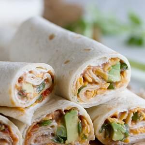 Vegetarian Wraps with Beans and Cheese