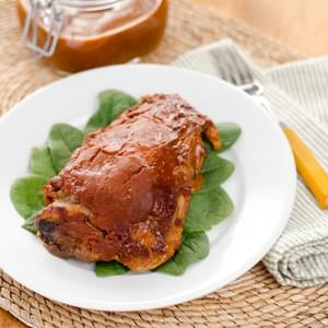 Crock Pot Barbecue Turkey Thighs