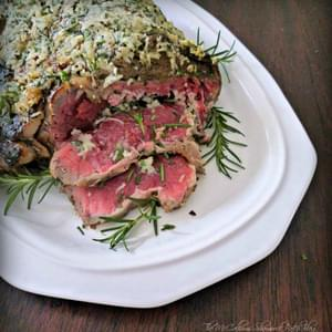 How-to the perfect Herb Crusted Ribeye Roast