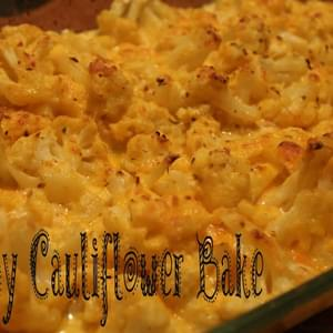 Cheesy Cauliflower Bake