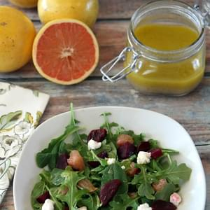 Florida Grapefruit and Beet Salad