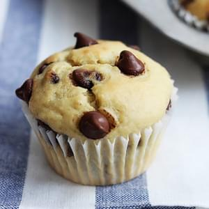 Greek Yogurt Banana Muffins