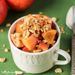 2 Minute Apple Pie Crunch