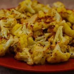 Roasted Curried Cauliflower with Lemon and Cumin