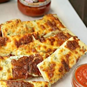 3 Herb Garlic Cheesy Bread