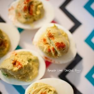 Avocado-Lime Deviled Eggs