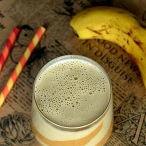 Creamy Banana & Peanut Butter Smoothie