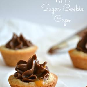 Twix Sugar Cookie Cups