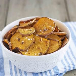 Salt & Vinegar Sweet Potato Chips