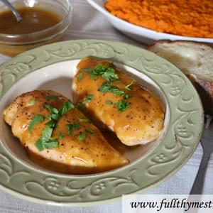 Quick Baked Honey Dijon Chicken