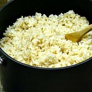 Brown Butter Rice