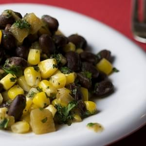 Black Beans and Corn with Green Chiles