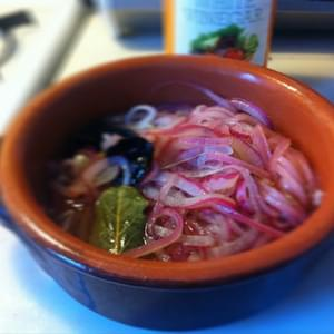 How To Make Pickled Red Onions