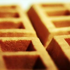 Soft Buttermilk Waffles