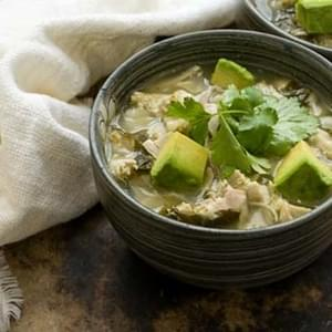 Chicken Posole Verde