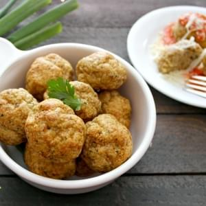 Easy Restaurant Style Chicken Meatballs