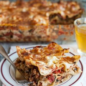 Cheesy All-Vegetable Lasagna
