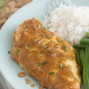 Maple-Mustard Baked Chicken