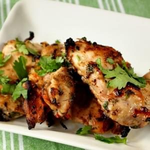 Cilantro Chicken with Lime