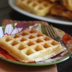 Light and Fluffy Buttermilk Waffles - Gluten Free