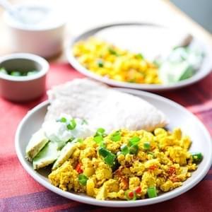 Garam Masala Tofu Scramble Recipe