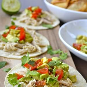 Slow Cooker Zesty Chicken Tacos