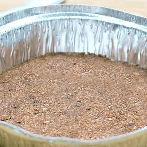 30-Second Chocolate Pie Crust