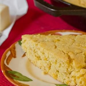 Skillet Cornbread with Creamed Corn