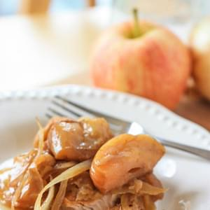 Crock Pot Pork and Apples