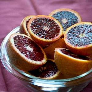Blood Orange Olive Oil Cake