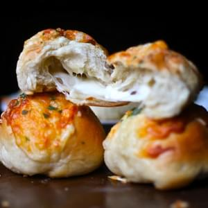 Peeta's Stuffed Cheese Buns