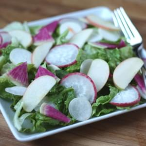 Winter Salad with Meyer Lemon Vinaigrette