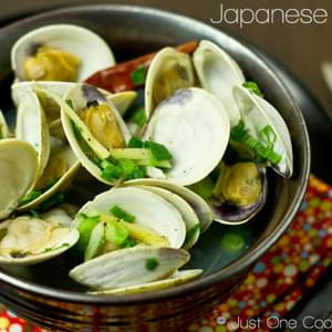 Japanese Clams (Sake Steamed Clams)