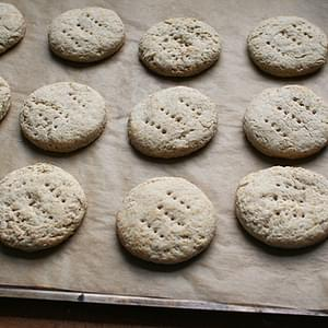 Buttermilk Barley Biscuits