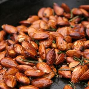 Garlic, Rosemary And Chilli Almonds