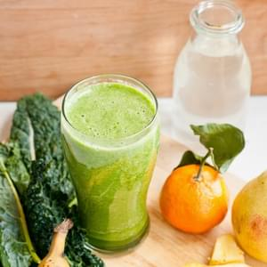 Kale Sunrise Green Smoothie