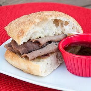 Cheddar Cheese French Dips
