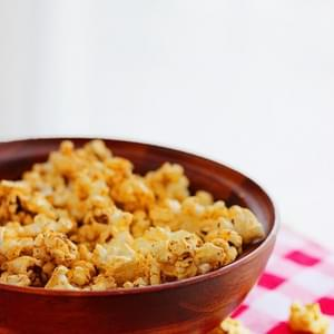 Sweet 'n Spicy Brown Butter Popcorn