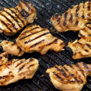 Orange- Ginger Grilled Chicken Thighs