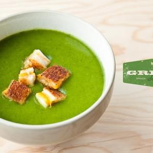 Spinach Stracciatella Soup with Orzo Recipe